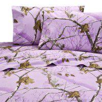 AP Lavender Camo Sheet Sets