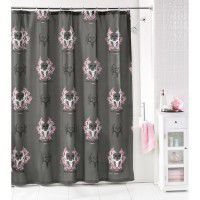 Pink Bone Collector Shower Curtain