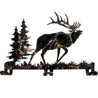 Camo Elk Coat Rack