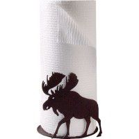 Wilderness Moose Paper Towel Holder