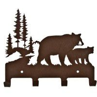 Bear Family Wall Hook