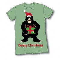 Beary Christmas Nightshirt-CLEARANCE