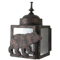 North Ridge Bear Box Sconce