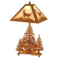 Lone Deer Table Lamp