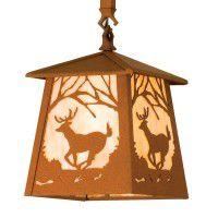 Deer At Dawn Mini Pendant Light