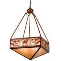 Lone Elk Inverted Pendant Light