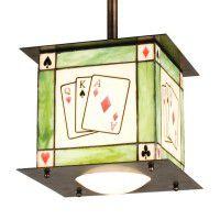Texas Hold'em Mini Pendant Light