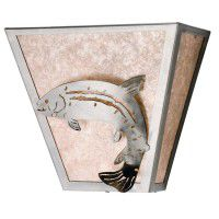 Leaping Trout Wall Sconce
