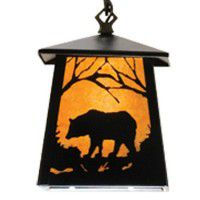 Bear At Dawn Mini Pendant Light