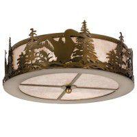 Loon Flush Mount Ceiling Light