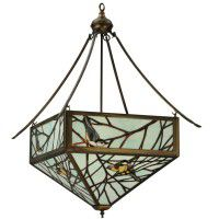 Backyard Friends Bird Chandelier