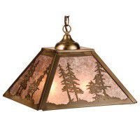 Forest Pines Pendant Light
