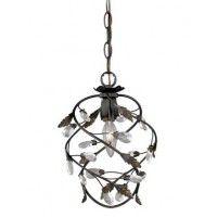 Crystal Trellis Petite Pendant Light