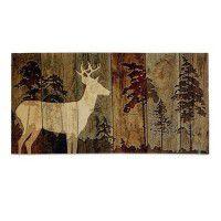 Woodburn Lodge Deer Wall Hanging