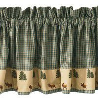 Moose and Pine Valance