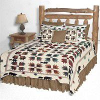 Bear Paws Quilt Sets