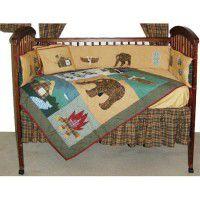 Cabin Crib Set
