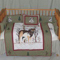 Call of the Wild - Wolf Crib Set