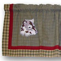Call of the Wild Wolf Valance