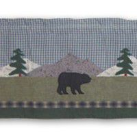 Northwoods Animal Walk Valance