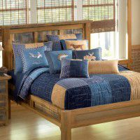 Denim Square Quilts