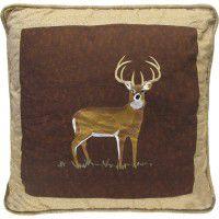 Deer Portrait Pillow
