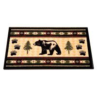 Bear Fever Kitchen and Bath Rug