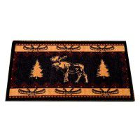 Moose Fever Kitchen and Bath Rug