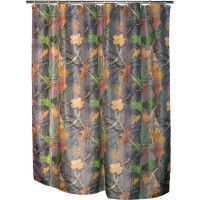 Fall Transition - Camo Shower Curtain