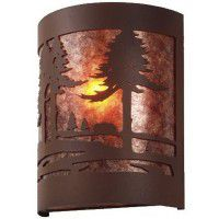 Timber Ridge Cabin Sconce