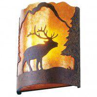 Timber Ridge Elk Sconce