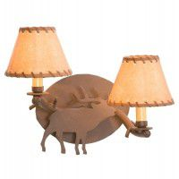 Timber Sconce - Elk
