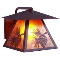 Pine Cone Outdoor Sconce