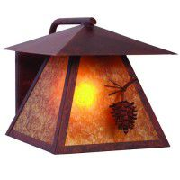 Ponderosa Pine Outdoor Sconce