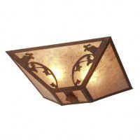 Bavarian Moose Ceiling Light