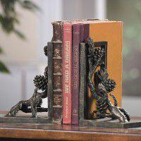 Pine Cone Book Ends