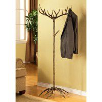 Antler Standing Coat Rack