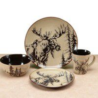Majestic Moose Dinnerware