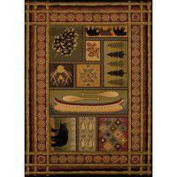 Lodge Canvas Area Rugs