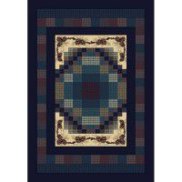Gingham Pine Area Rugs