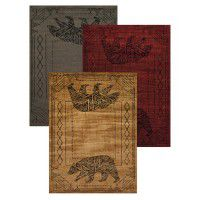 Bear Cave Area Rugs