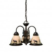 Bryce Deer 3 Light Mini Chandelier