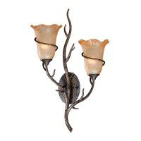 Monterey Umber Double Sconce