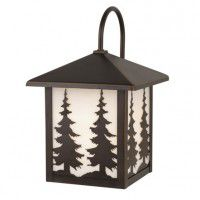 Yosemite Pine Tree Outdoor Lantern