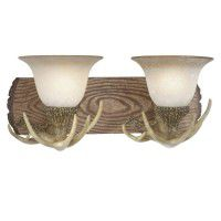 Lodge Antler Vanity Lights - 3 Sizes Available