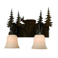 Bryce Deer Vanity Lights - 3 Sizes Available