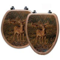 First Light Deer Toilet Seats