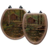 Log Cabin Toilet Seats