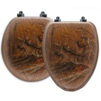 Maple Rush Deer Toilet Seats