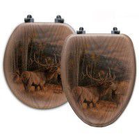 Meadow Music Elk Toilet Seats